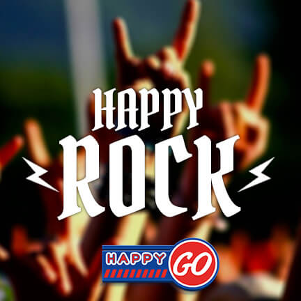 play list rock happy go